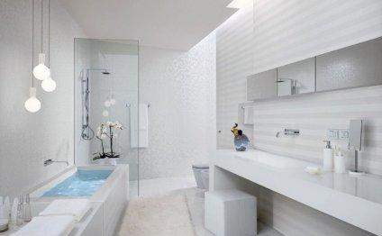 Фото белой плитки в интерьере