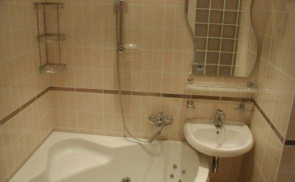 Фото: дизайн маленькой ванной