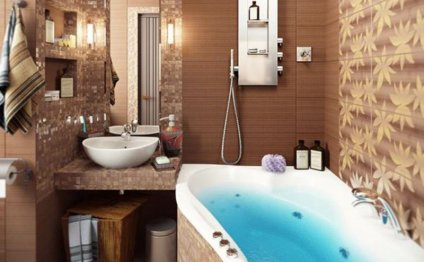 Стиль ванной комнаты: фото