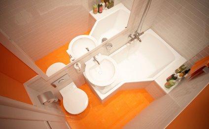 Дизайн очень маленькой ванной