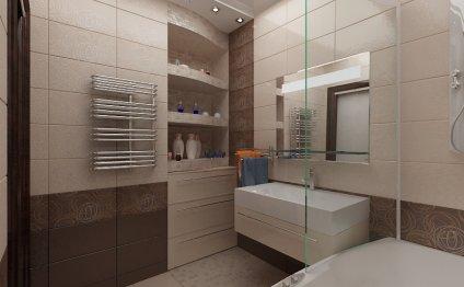 Сборка дизайн проектов ванной
