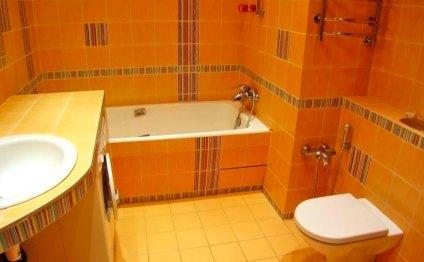 Дизайн ванны совмещенной с
