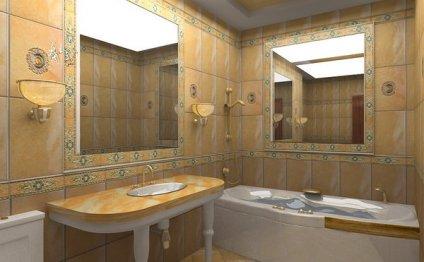 дизайн ванной комнаты без