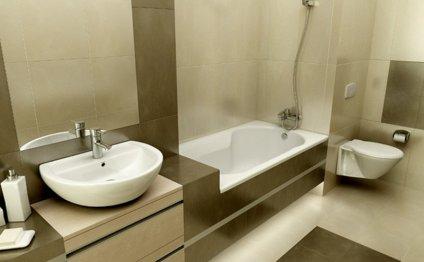 Дизайн ванной маленького