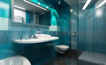 Дизайн ванной, совмещенной с