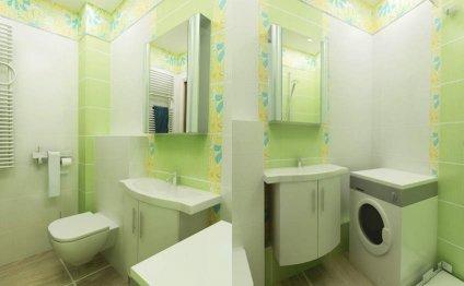 интерьер ванной комнаты в