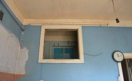 На кухне на месте окна будет