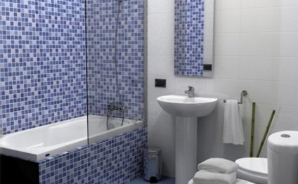 Отделка ванной комнаты и