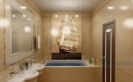 дизайн отделки ванной комнаты