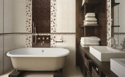 современный дизайн ванных