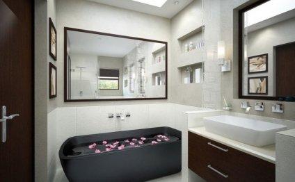 Современный дизайн ванной - 35