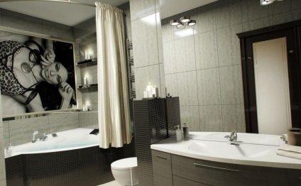 И конечно же, дизайн ванной во