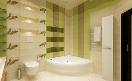 Отделка ванной комнаты ПВХ