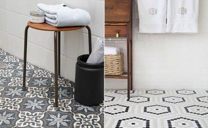 Дизайн ванной комнаты: плитка