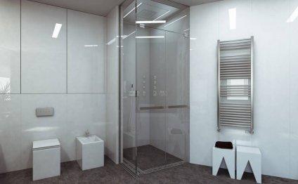 Дивный интерьер ванной в