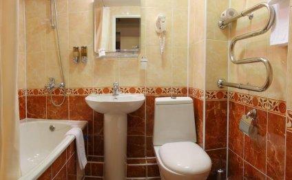 Дизайн ванной комнаты 6 кв.м