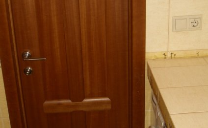 Дверь в ванную » Ванная в