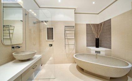 Красивый ремонт ванной комнаты