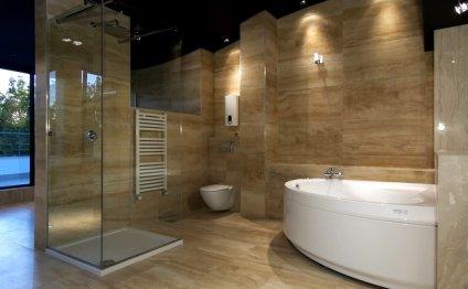 Дизайн ванной комнаты с
