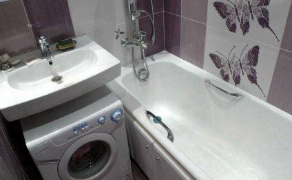 дизайн совмещенного санузла ванной стиральной перепланировка